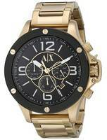 Armani Exchange Quartz Chronograph Gold Tone AX1511 Men's Watch