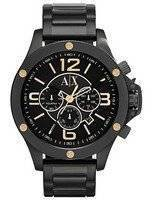 Armani Exchange Chronograph Black Dial AX1513 Men's Watch