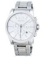 Armani Exchange Chronograph Silver-Tone Dial AX2058 Men's Watch