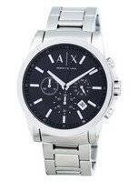 Armani Exchange Chronograph Black Dial AX2084 Men's Watch