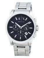 Armani Exchange Chronograph Black Dial AX2084 Men's Watch