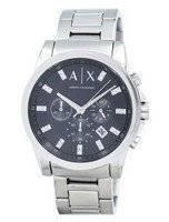Armani Exchange Chronograph Crystals Grey Dial AX2092 Men's Watch