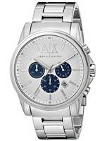 Armani Exchange Quartz Chronograph Silver Dial AX2500 Men's Watch