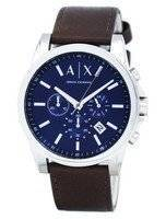 Armani Exchange Quartz Chronograph Blue Dial AX2501 Men's Watch