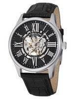 Relógio Stuhrling Original átrio Dial automático esqueleto 747.02 masculino