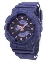 Casio G-Shock Baby-G World Time Analog Digital BA-110DE-2A1 BA110DE-2A1 Women's Watch
