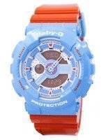 Casio Baby-G World Time Shock Resistant Analog Digital BA-110NC-2A Women's Watch