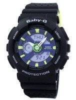 Casio Baby-G Shock Resistant World Time Analog Digital BA-110PP-1A Women's Watch