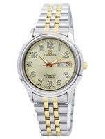 J.Springs por Seiko automáticas 21 jóias Japão fez relógio BEB535 masculino