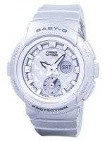 Casio Baby-G Shock Resistant World Time Analog Digital BGA-195-8A BGA195-8A Women's Watch