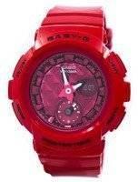 Casio Baby-G Shock Resistant World Time Analog Digital BGA-195M-4A BGA195M-4A Women's Watch