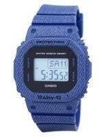 Casio Baby-G Denim'd Alarm Digital 200M BGD-560DE-2 BGD560DE-2 Women's Watch