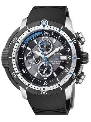 Citizen Promaster Eco-Drive Aqualand Diver BJ2120-07E BJ2120-07 BJ2120 Men's Watch - Click Image to Close