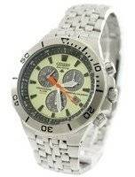 Citizen Eco-Drive Tachymeter Perpetual Calendar BL5280-61W Men's Watch