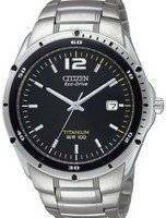 Citizen Eco Drive Titanium BM6389-51E BM6389 Men's Watch