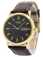 Citizen Eco-Drive Gold Tone Stainless Steel BM8242-08E Men's Watch
