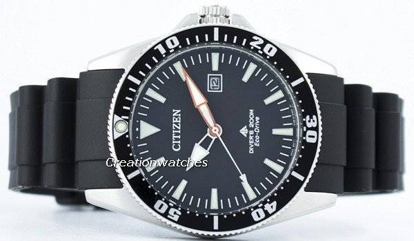 Citizen Promaster Marine Diver's Eco-Drive 200M BN0100-42E Men's Watch - Click Image to Close