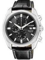 Citizen Eco-Drive Chronograph Super Titanium CA0021-02E CA0021 Men's Watch