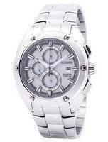 Citizen Eco-Drive Chronograph Super Titanium CA0210-51A Men's Watch