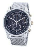 Citizen Eco-Drive Mesh Bracelet Chronograph CA0336-52H Men's Watch