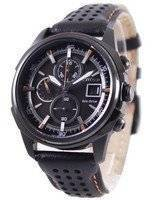Citizen Eco Drive Leather Chronograph CA0375-00E Men's Watch