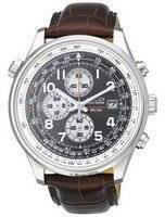 Citizen Eco Chronograph Black Dial CA0390-14E