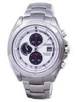 Citizen Eco-Drive Titanium Chronograph Tachymeter CA0551-50A Men's Watch