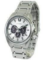 Citizen Eco-Drive Titanium Chronograph CA4010-58A Men's Watch