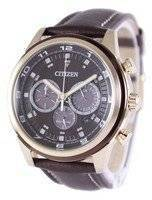 Citizen Eco-Drive Chronograph CA4037-01W Men's Watch