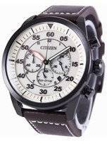 市民エコドライブ飛行士クロノグラフ CA4215 04W メンズ腕時計
