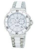 "Tag Heuer ""Formula One"" Diamonds Accent Chronograph Quartz CAH1213.BA0863 Women's Watch"