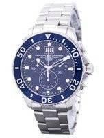 Tag Heuer Aquaracer cronógrafo data de Grande CAN1011. BA0821 Relógio masculino