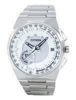 Citizen Eco-Drive Titanium Satellite Wave GPS World Time CC2001-57A Men's Watch