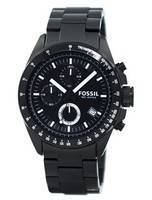 Fossil Chronograph Black Ion-plated CH2601 Men's Watch