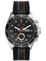 Fossil Decker Quartz Chronograph Black Dial 100M CH2956 Men's Watch