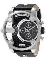 Diesel Little Daddy Chronograph Dual Time Black Dial DZ7256 Men's Watch