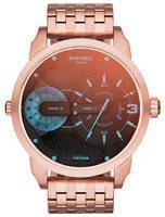 Diesel Mini Daddy Quartz Dual Time DZ7336 Men's Watch
