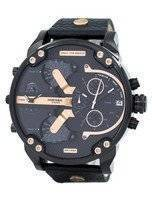 Diesel Mr. Daddy 2.0 Quartz Chronograph Black Dial DZ7350 Men's Watch