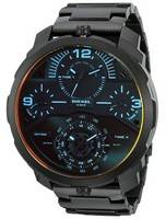 Diesel Machinus Quartz Infrared Tinged 4 Timezone DZ7362 Men's Watch