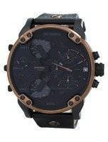 """Diesel Mr. Daddy 2.0 Timeframes """"Only The Brave"""" Chronograph Quartz DZ7400 Men's Watch"""