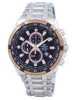 Casio Edifice Chronograph Quartz Tachymeter EF-539D-1A5V Men's Watch
