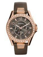 Fossil Riley Multifunction Crystal Quartz ES3888 Women's Watch
