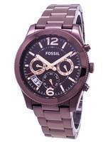 Fossil Perfect Boyfriend Multifunction Dual Time GMT Quartz ES4110 Women's Watch