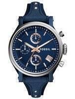 Fossil Original Boyfriend Sport Chronograph Quartz ES4113 Women's Watch