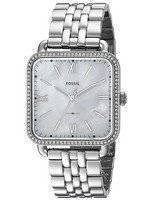 Fossil Micah Quartz Diamond Accent ES4268 Women's Watch