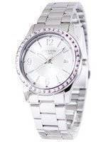 Citizen Quartz Pink Swarovski Elements EV0040-59A Women's Watch