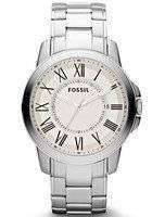 Fossil Grant Analog Staginess Steel FS4734 Men's Watch
