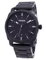 Fossil Machine Black IP Stainless Steel FS4775 Men's Watch