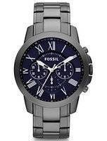 Fossil Grant Chronograph Black IP Stainless Steel FS4831 Men's Watch