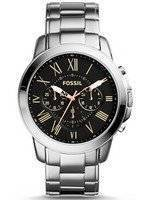 Fossil Grant Chronograph Black Dial FS4994 Men's Watch